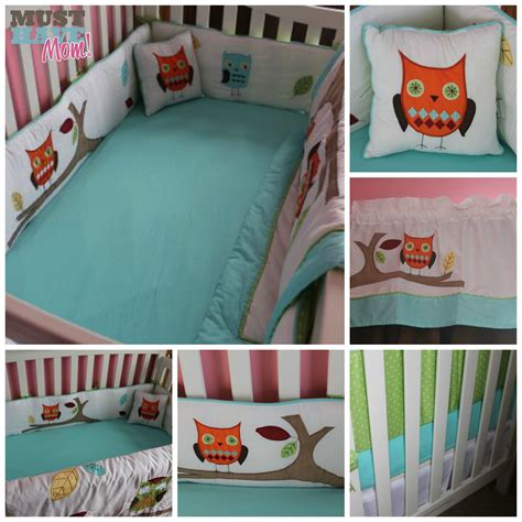 owl baby crib bedding set baby s crib bedding reveal choosing gender neutral crib