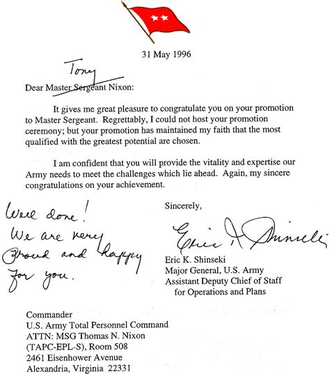 letter of appreciation navy award points general officer letters