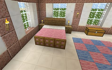mindcraft bedroom minecraft pink bed bedroom minecraft pinterest pink