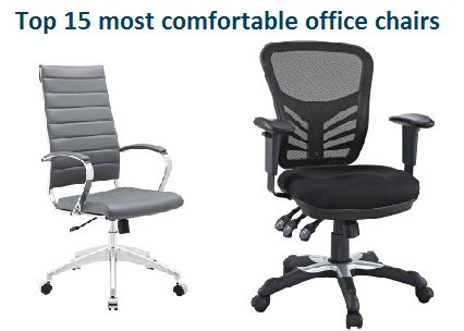 Most Comfortable Office Chairs by Top 15 Most Comfortable Office Chairs In 2017 Officegearzone