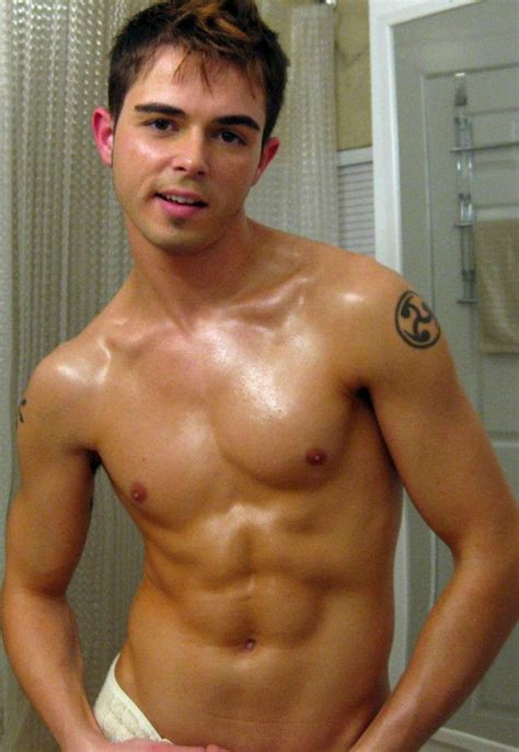 tumblr bathroom men shirtless beefcake male frat guy shower tattoo cute abs