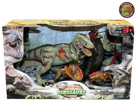 Figure Dinosaurus Set prehistoric jurassic world dinosaurs figures