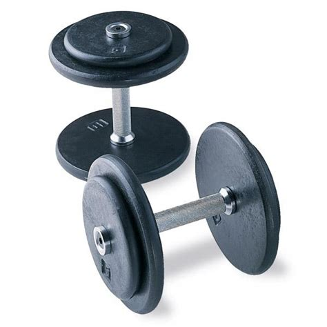 cap barbell pro style dumbbells without end caps