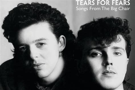 Songs From The Big Chair by Tears For Fears Tops The 80s On 8 Big 40 Countdown 6 19