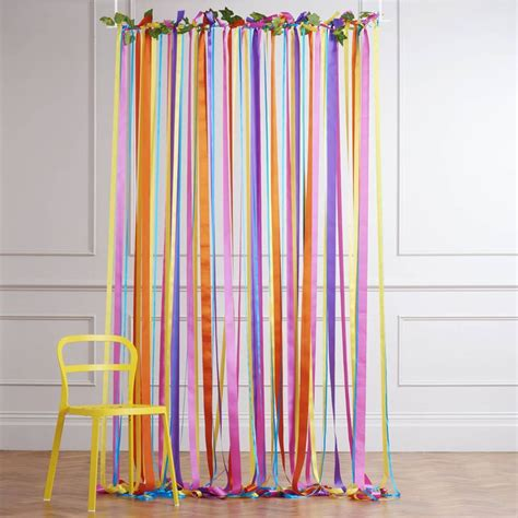 ribbon drapes 25 best ideas about ribbon curtain on pinterest ribbon