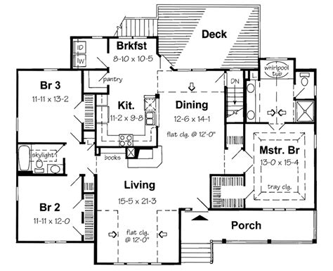 country open floor plans country homes open floor plan