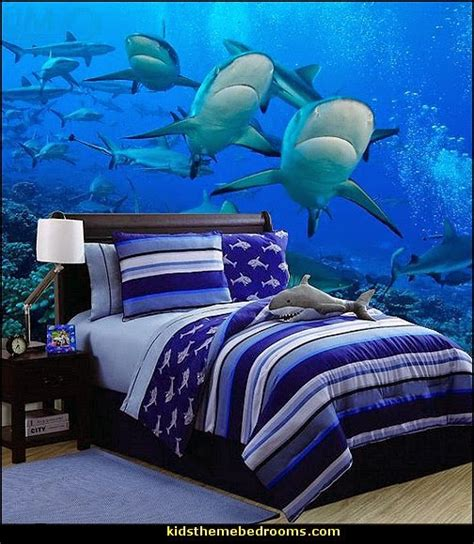 shark decorations for bedroom decorating theme bedrooms maries manor shark bedrooms shark murals shark bedding shark