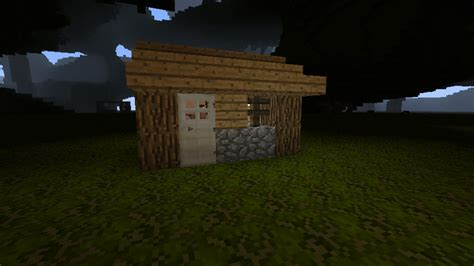 Minecraft Shed how to build a small shed in minecraft