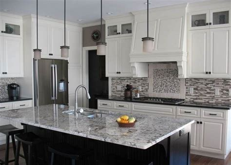 Kitchen Faucets By Moen White Ice Granite Countertops For A Fantastic Kitchen Decor