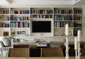 Living Room Bookshelves Living Room Built In Cabinets Design Ideas