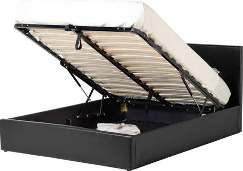Three Quarter Ottoman Storage Bed Waverley Three Quarter Storage Bed Faux Leather Beds