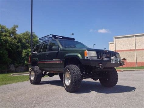 1995 Jeep Grand Mpg Buy Used 1995 Jeep Grand Orvis Sport Utility 4