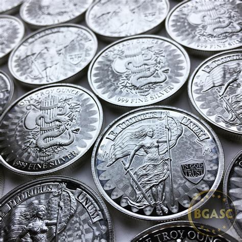 1 oz silver rounds 999 buy 1 oz silver liberty unity high relief micro engraved