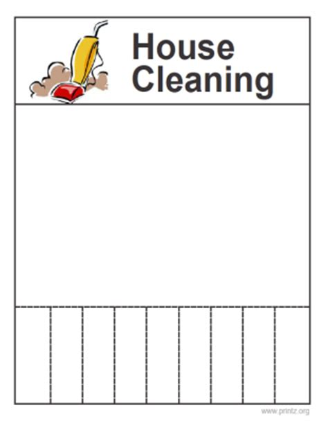 8 Best Images Of Free Printable House Cleaning Flyers Free Printable Cleaning Flyer Templates Free Printable Flyers Templates