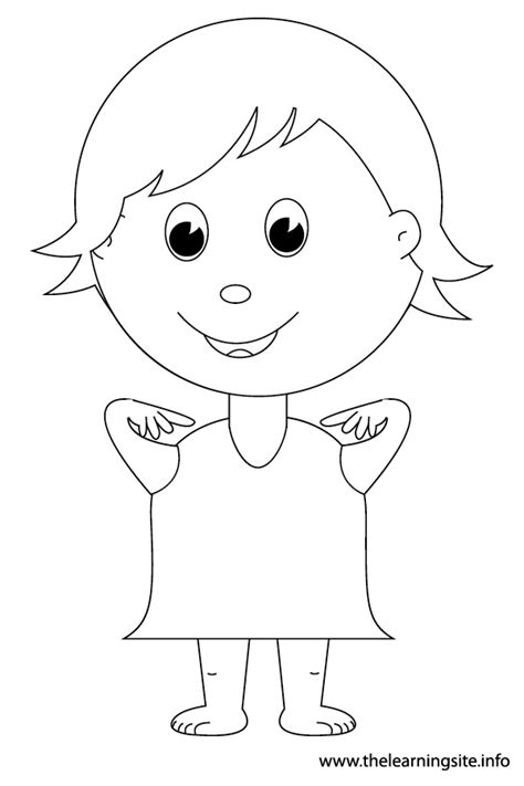 head shoulders knees and toes coloring sheet www imgkid