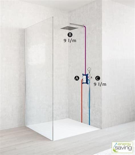 impianti doccia configurazioni doccia 2 uscite firunico 174 di fir italia