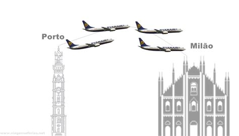 Calendario Voos Low Cost Ryanair Lan 231 A Rota Porto Mil 227 O Malpensa 4 Voos Por Semana