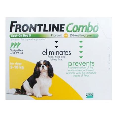 frontline for small dogs frontline combo for dogs frontline combo spot on flea tick treatment