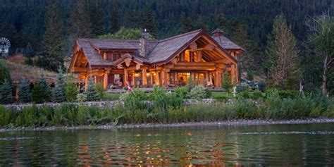 Log Cabin Homes Interior timber king s log home masterpiece luxuryhomes com