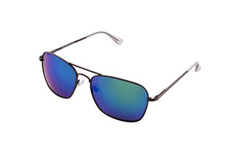 pugs aviator sunglasses 902 pugs 100 uv classic aviator sunglasses copper and clear frame multicolored lens