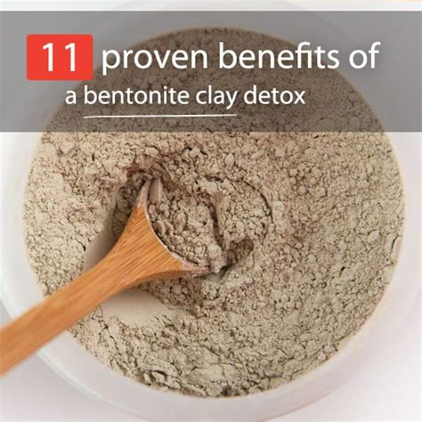 How To Use Bentonite Clay For Detox Bath by 11 Proven Benefits Of A Bentonite Clay Detox