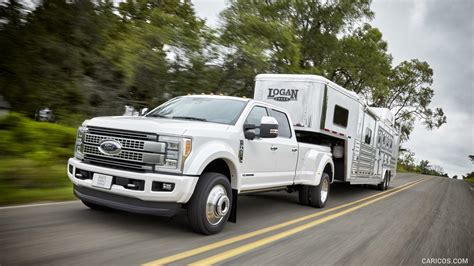 Car Wallpaper 2017 Trailer by 2017 Ford F 450 Duty Platinum Crew Cab Towing A
