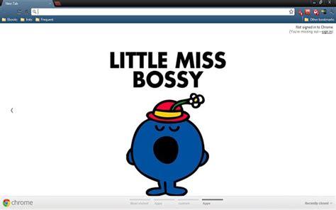 theme infinite google chrome chrome themes little miss bossy
