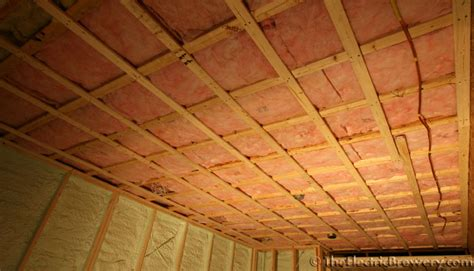 Drywalling A Basement Ceiling by Kal S Basement Brewery Bar Home Theatre Build 2 0