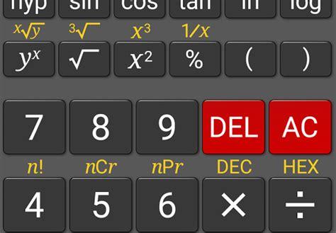 calculator pangkat 4 aplikasi kalkulator android terbaik dan terlengkap