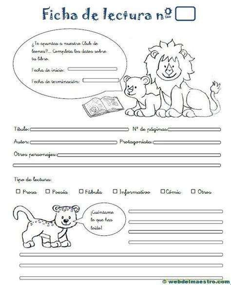 santillana para alumnos de educacin primaria aprender a leer ficha de lectura para 2 186 de primaria comprensi 243 n lectora