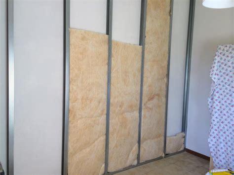come isolare una parete interna dalla muffa isolamento termoacustico con di vetro e piombo