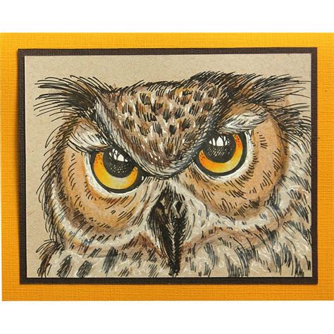 owl rubber st 146 best stendous cards images on handmade