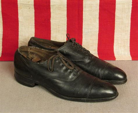 1920s oxford shoes vintage 1920s black leather oxford shoes preacher antique