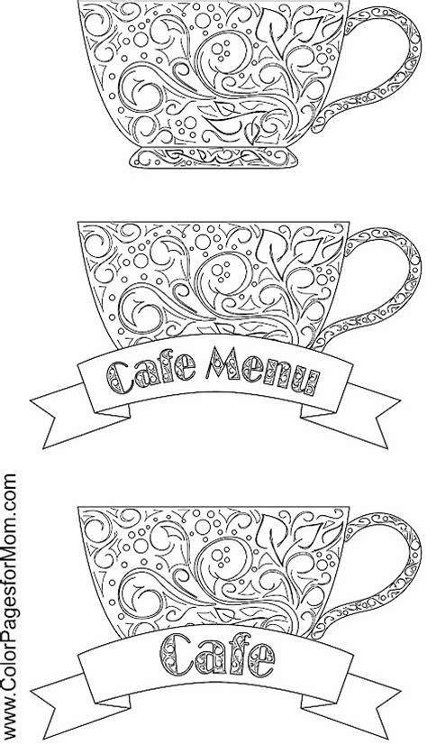 coloring pages for adults coffee coffee coloring page 13 adult coloring pinterest