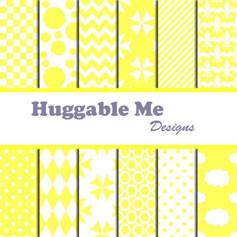 free printable scrapbook paper yellow yellow scrapbook paper yellow white digital papers for