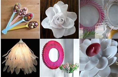 plastic crafts projects plastic spoon crafts diy crafts