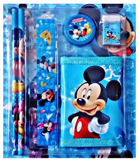 Can You Return A Best Buy Gift Card - mickey mouse stationery return gift set pack of 11 buy online at best price in