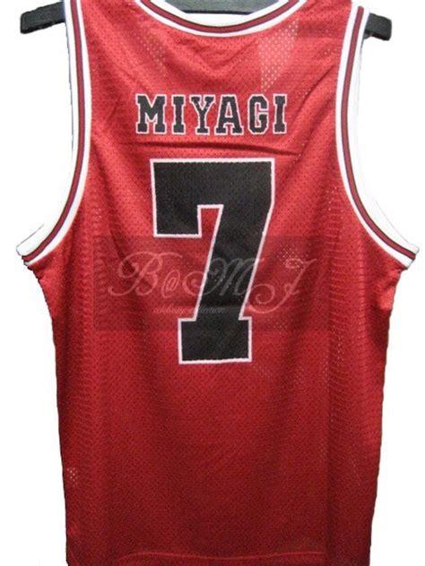 Jersey Slamdunk Sohoku slam dunk shohoku away no 7 miyagi ryota jersey ebay