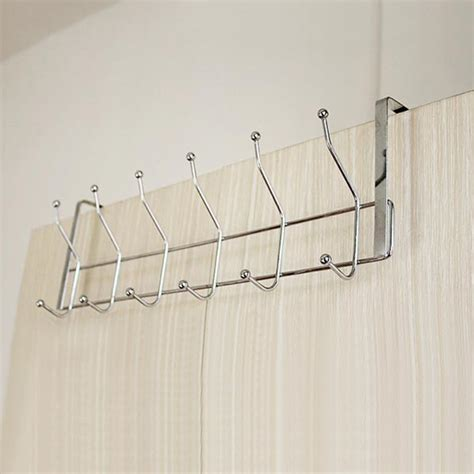 bathroom door hooks stainless steel 12 hooks storage hat coat towel bathroom door hanger alex nld