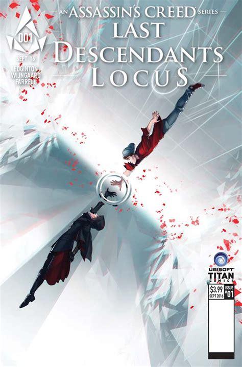 last descendants assassins creed assassin s creed last descendants locus 1 glass cover fresh comics
