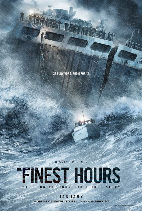 film disney ours the finest hours trailer sees chris pine attempting an