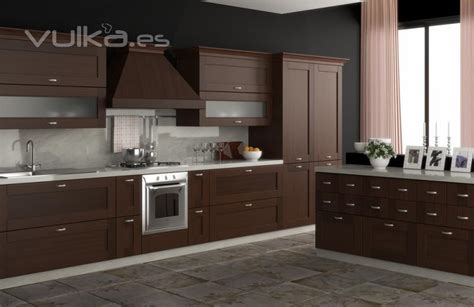 Foto muebles de cocina cocina en madera