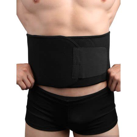 black neoprene waist trimmer exercise tummy belly belt shaper walmart