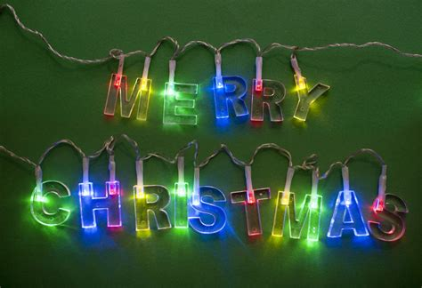 photo  close   lighted christmas garland  christmas images