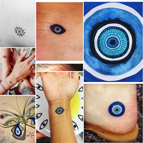 small eye tattoos evil eye symbol icon tattoos