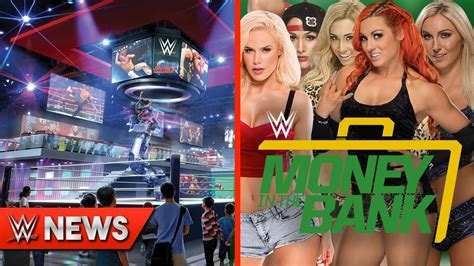 wwe themes pictures wwe theme park coming soon women s mitb ladder match