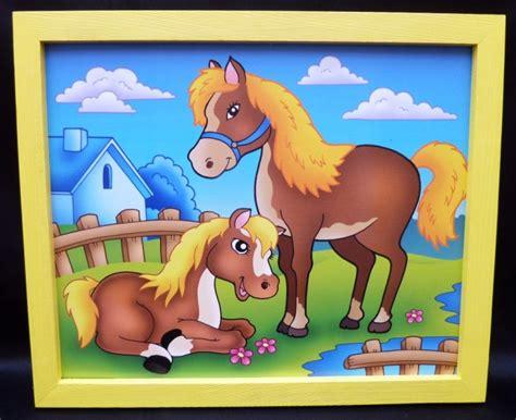 kinderzimmer bild pferd bilder f 252 r s kinderzimmer pferd holzspielzeug f 252 r