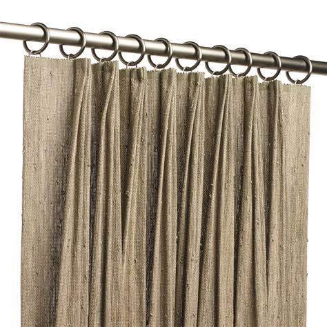 drapery pleat types natural woven drapery hartmann forbes