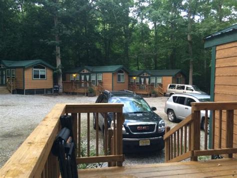 Williamsburg Cabins by View Of Road Inside Cground From Our Cabin Picture Of