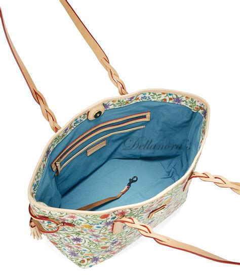 dooney bourke floral print bailey shoulder tote shopper bag handbag nwt  ed ebay